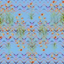 ZIG ZAG FLOWERS